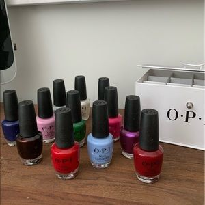 OPI limited edition Nutcracker nail lacquer set